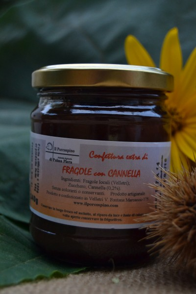 Fragole con Cannella